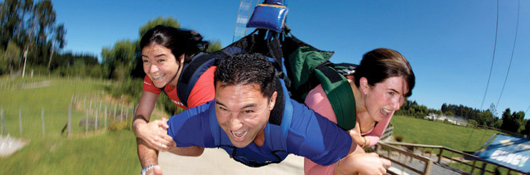 Do adrenaline pumping activities in Rotorua and stay at the Palm Court Rotorua, rotorua accommodation