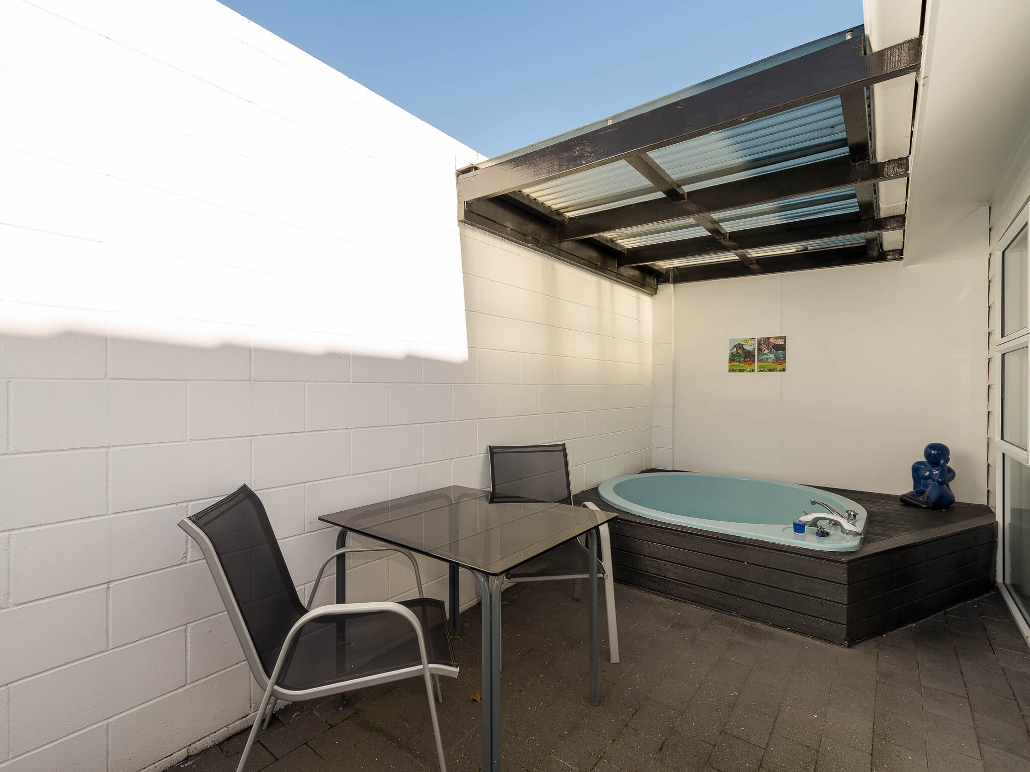 Spa Bath - Unit 9 Two Bedroom Unit | Palm Court Rotorua