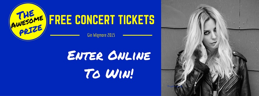 Win Tickets to Gin Wigmore | Palm Court Rotorua