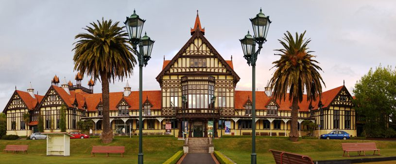 Rotorua Museum of Art and History | Win A Rotorua Getaway For Two | Palm Court Motor Inn