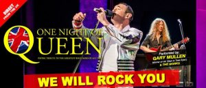 One Night of Queen | Rotorua Events
