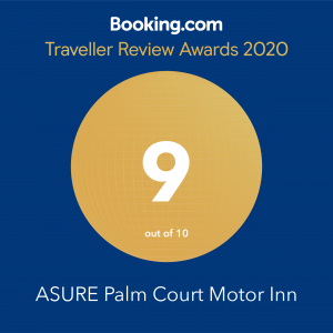 Booking.com award 9 out of 10