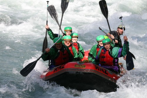 White water rafting | Palm Court Rotorua Motel