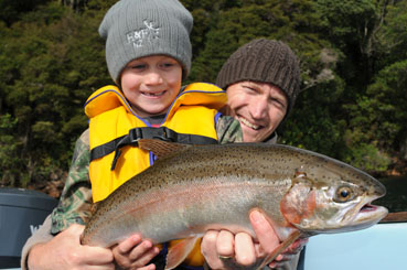 Go trout fishing | Palm Court Rotorua Motel