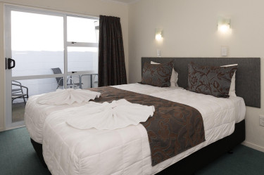 Bedroom - Unit 9 Two Bedroom Unit | Palm Court Rotorua