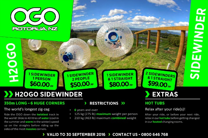 OGO - Inflatable Ball Rides