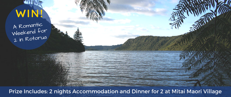 Win a Romantic Weekend - Palm Court Rotorua